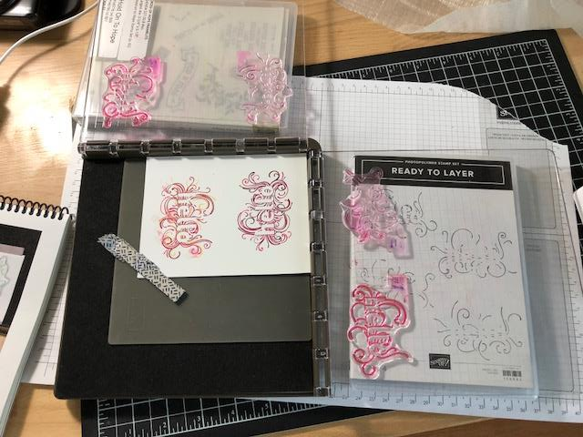 Ready to Layer, Stampin'Up!, Stamparatus, Frenchiestamps,