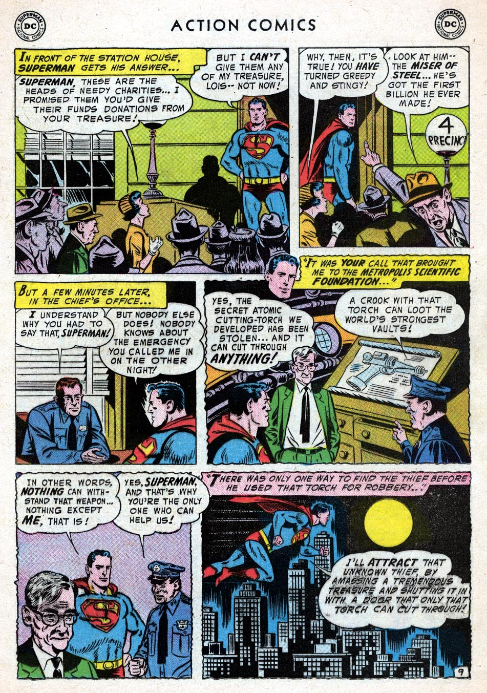 Read online Action Comics (1938) comic -  Issue #219 - 11