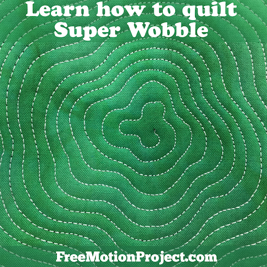 Learn how to Quilt Super Wobble! Design #485