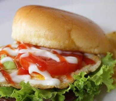 Resep Burger Telur Dadar Sederhana Enak Dan Praktis