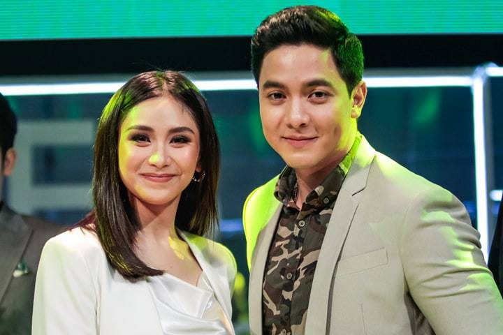 OPPO ambassadors Sarah Geronimo and Alden Richards