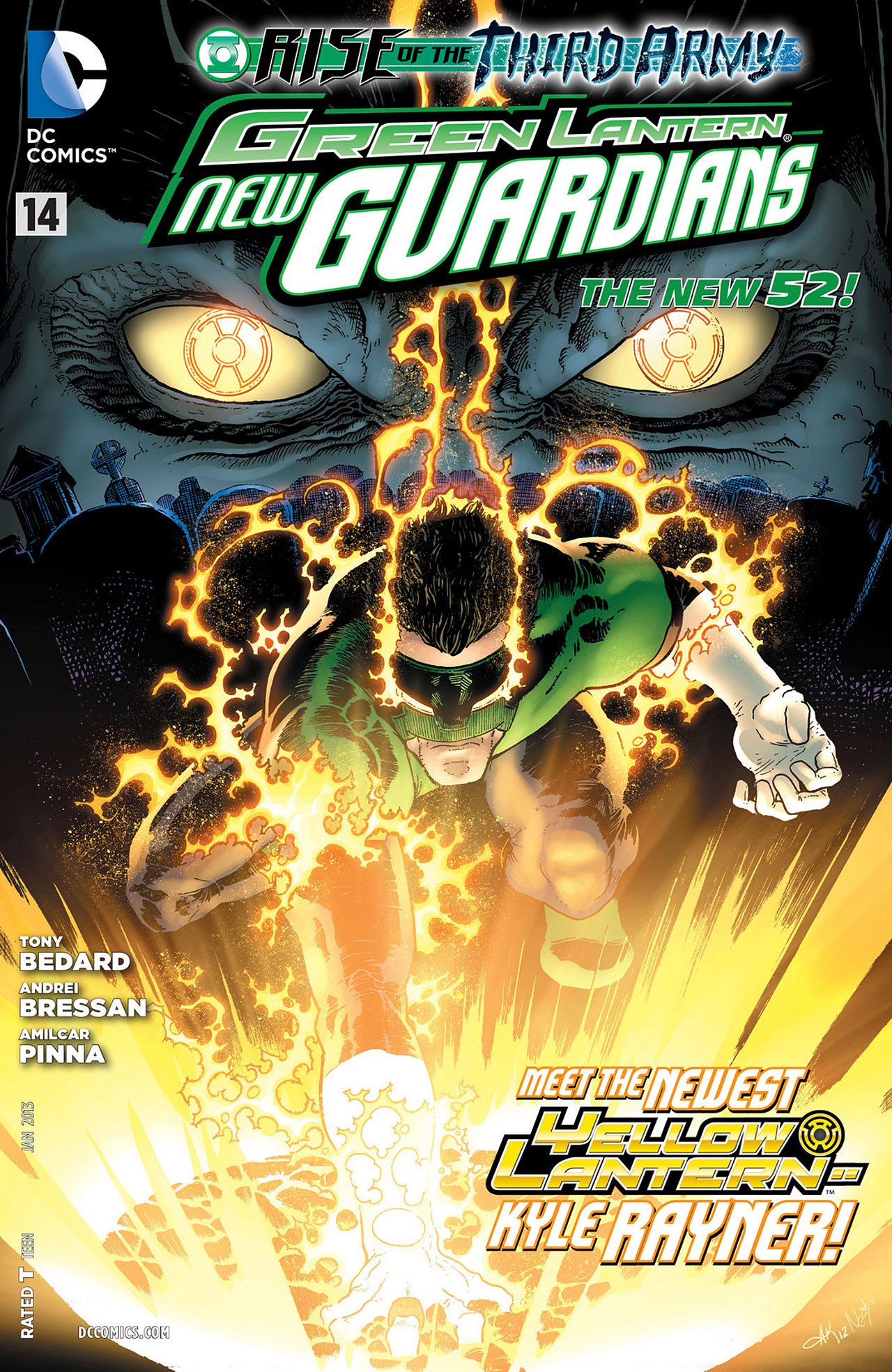 Green Lantern - New Guardians issue 14 - Page 1