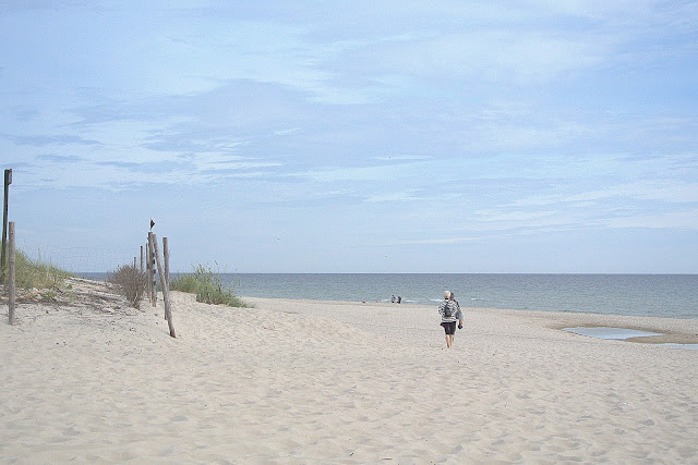 plaża na Helu, cypel, jak wygląda