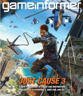 "Nearly two years after Avalanche Studios CEO Christofer Sundberg posted a mysterious screenshot on Instagram, the official word has come down that Just Cause 3 is in the works.  The confirmation comes to us by way of the cover for the December issue of Game Informer, revealed earlier this morning. As such, there's not much in the way of detail, although it did say that the game will be set in a fictional Mediterranean archipelago, the parachute and grapple have been ""vastly improved,"" and that players will be able to take the skies in an all-new wingsuit.  One thing it doesn't mention is whether or not the game will feature microtransactions. That became a question earlier this month, when a couple of leaked screens allegedly from the game indicated that players will be able to rent or buy vehicles and weapons with ""diamonds"" that can be purchased through real-money transactions.  Just Cause 3 is currently expected to come out next year.  PCG   Quote: The next game in Avalanche Studios' delightfully chaotic open-world action series, Just Cause, is coming to PlayStation 4, Windows PC and Xbox One next year, Game Informer reports.  Just Cause 3 will send players to the Mediterranean, where they'll be able to play with, in Game Informer's words, ""vastly improved parachute and grapple mechanics."" Players will also have access to a new wingsuit, which seems to open new possibilities in a franchise where crazy systems meet other crazy systems, resulting in peak crazy — or as Avalanche describes it, ""a fine balance between outright stupid and fun.""  The new Just Cause is in development at Avalanche Studios' Sweden and New York studios and Square Enix London.  Polygon"