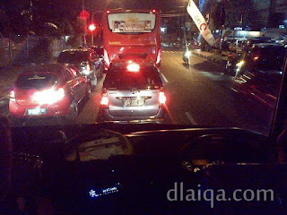 suasana lalu lintas di Kota Bandar Lampung (2)