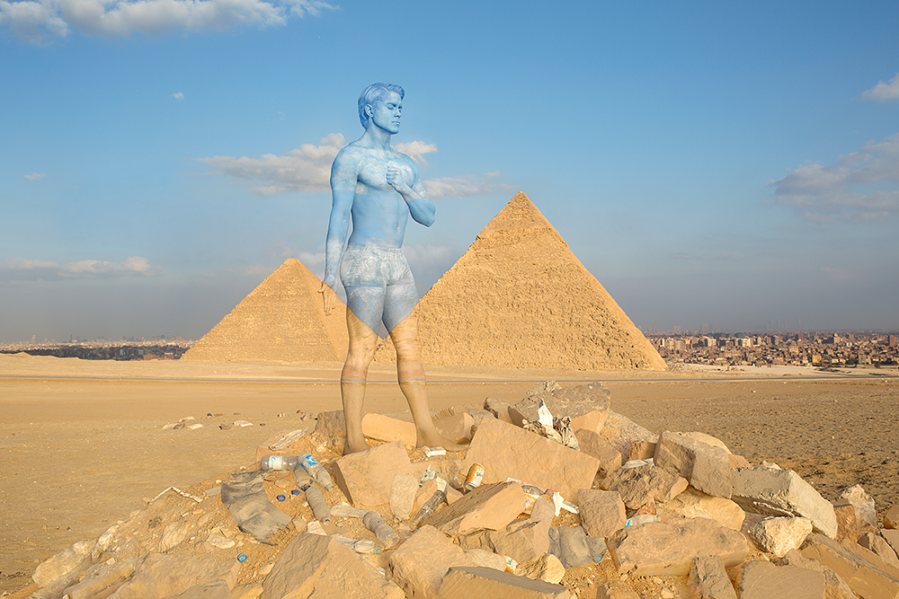 02-Pyramids-of-Giza-Egypt-Trina-Merry-Architecture-meets-Body-Painting-in-Lost-in-Wonder