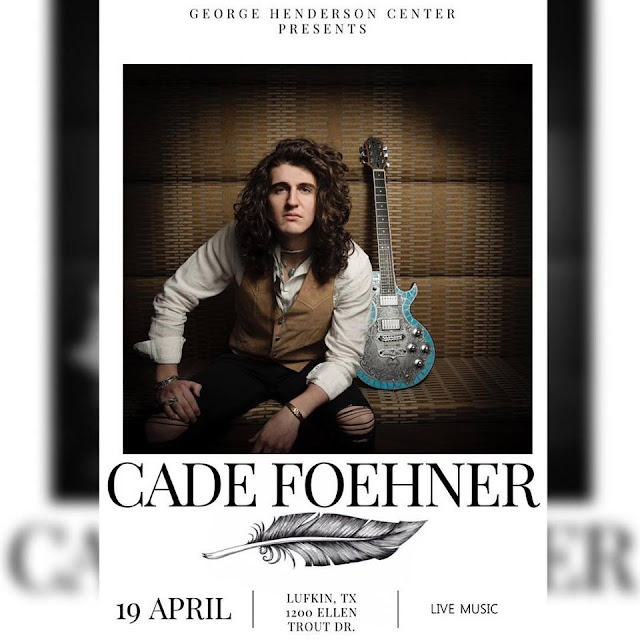 "American Idol's Cade Foehner will visit Lufkin to promote new single ""Southern Hallelujah"""