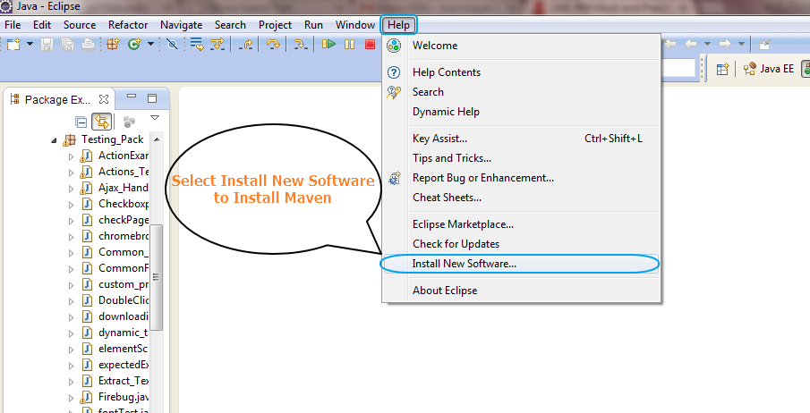 How To Download And Install Maven In Eclipse Step By Step