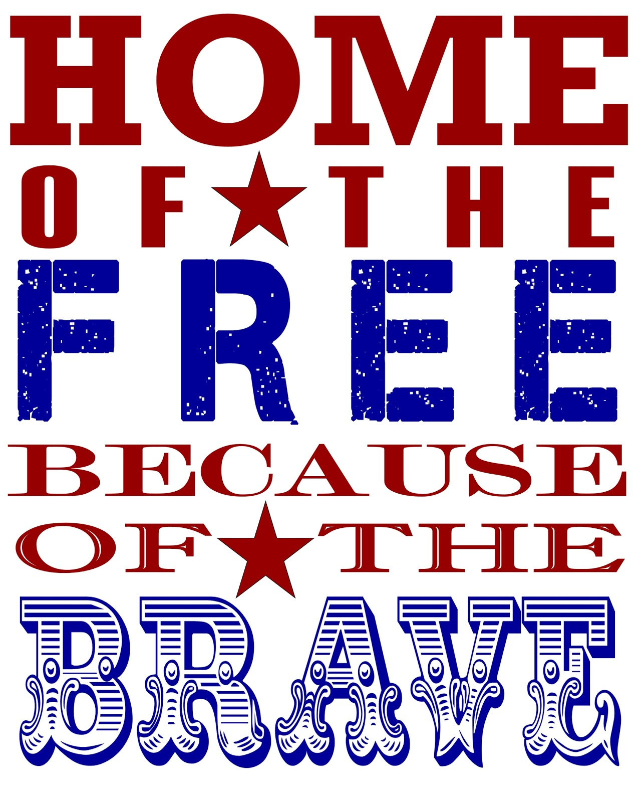 This N That A Little Crafting 4th Of July Printable