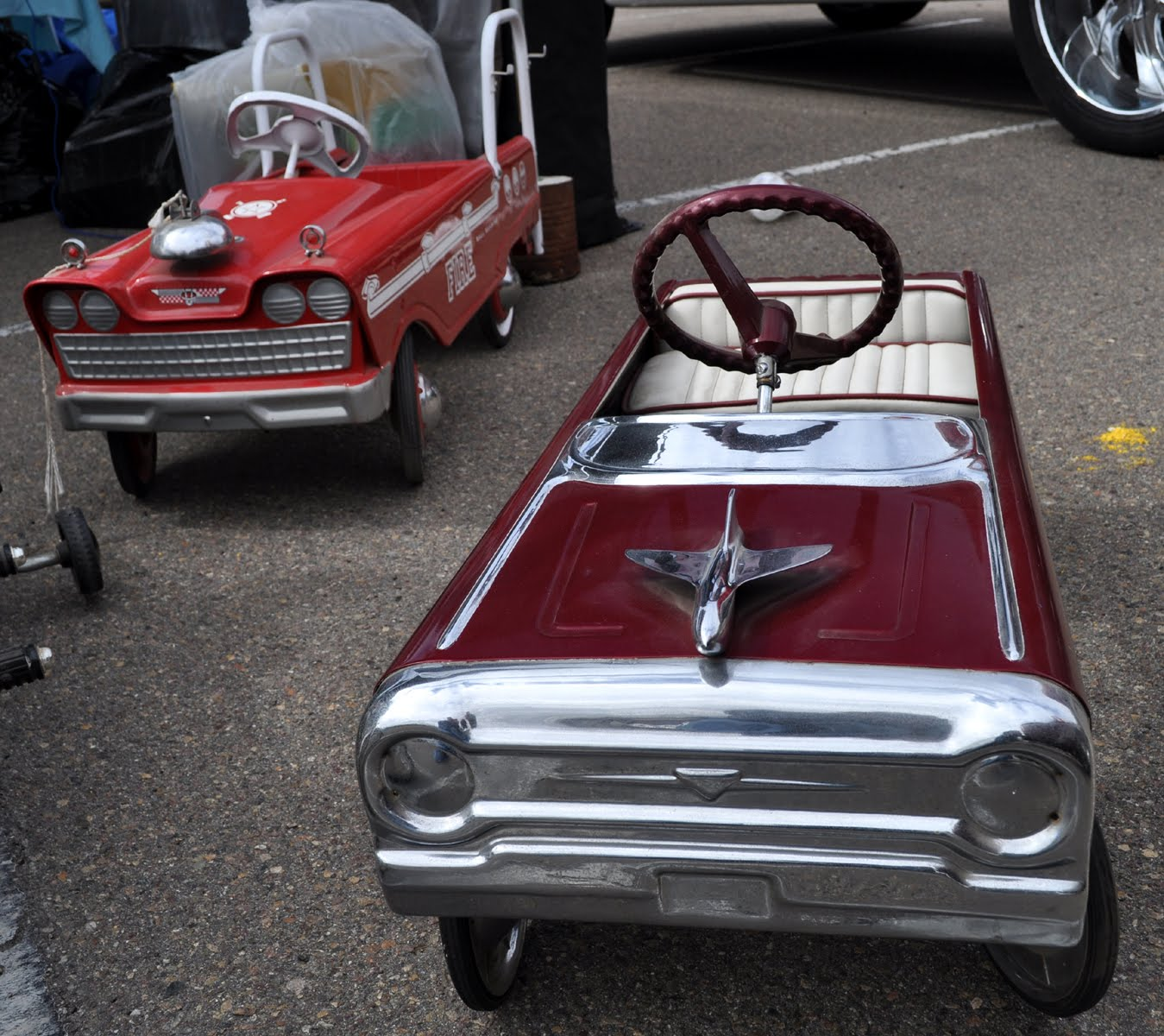 Just A Car Guy: Pedal Cars At The Annual Qualcomm Stadium