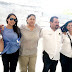 Aseadores de Calzado, agradecen al Alcalde Juan Diego, la construcción de baños sanitarios en la Plaza Principal Benito Juárez