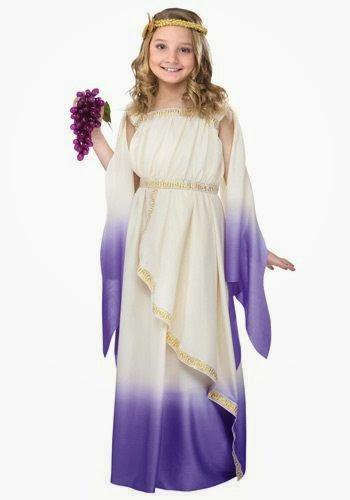 disfraz niña de diosa griega