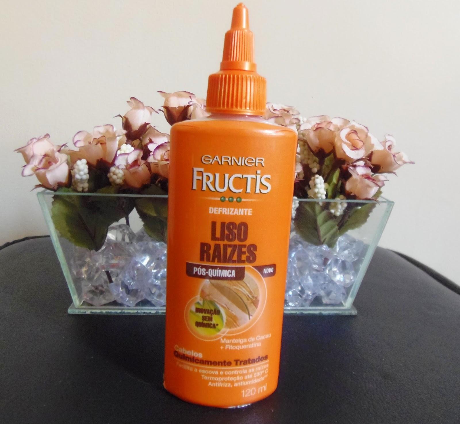 Garnier Fructis Pós química