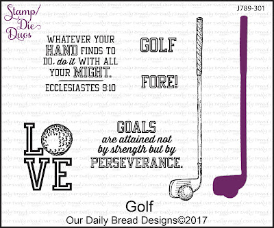 Stamp/Die Duos: Golf