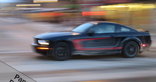 Panning in Photography