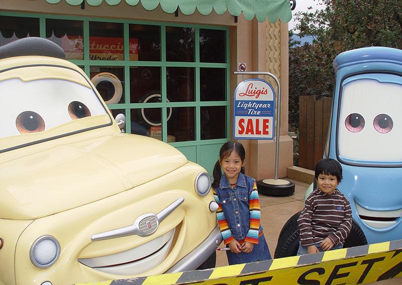 Disneyland Paris Park - Walt Disney Studios, CARS pixar