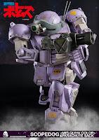 """Pre-order de Scopedog <Melquiya color> & Parachute Sack de """"Armored Trooper Votoms"""" - Threezero"""