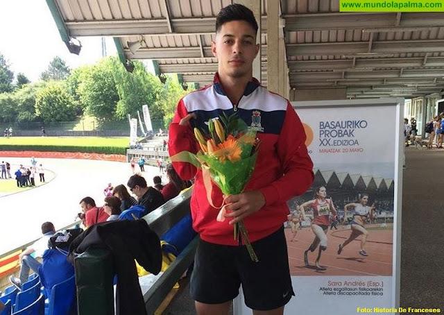 El atleta palmero Carlos Pérez se impone en Basauri