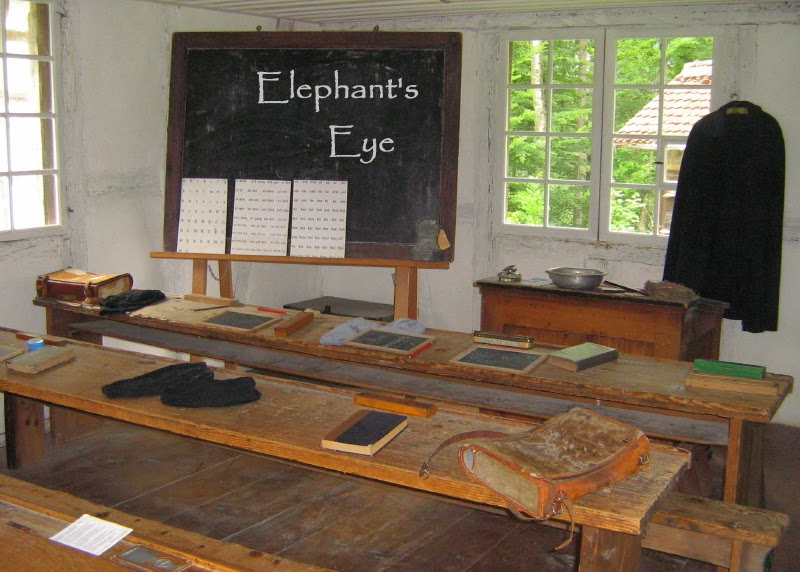 A school at Ballenberg museum