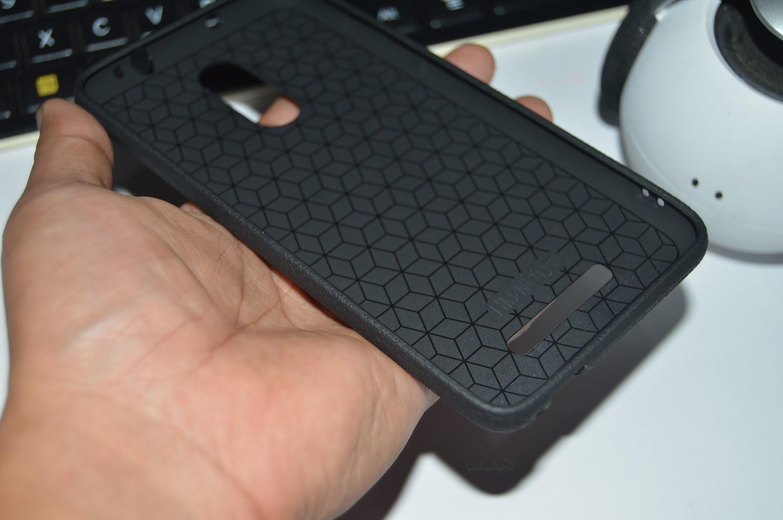 Tpu Jelly Softcase Leather Texture Case Tekstur Kulit Untuk Xiaomi Temperred Glass Redmi Note 3