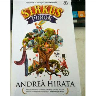 Cover buku sirkus pohon Andrea Hirata