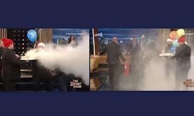 The 2Night Show: Γενέθλια για τον Γρηγόρη! Μπήκαν με πυροσβεστήρα στο πλατό - Άφωνος ο παρουσιαστής (βιντεο)