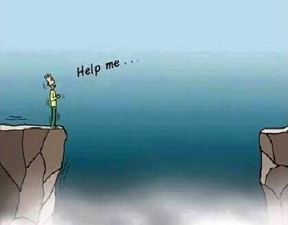 Kita memohon bantuan kepada Nya akan masalah yang kian menghadapi.