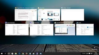 tombol windows dan tab