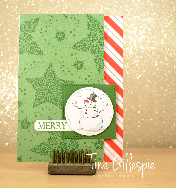 scissorspapercard, Stampin' Up!, Art With Heart, Heart Of Christmas, Merry Christmas To All, Santa's Workshop SDSP, Dashing Along DSP, Merry Christmas Thinlits, Stitched Shapes Framelits