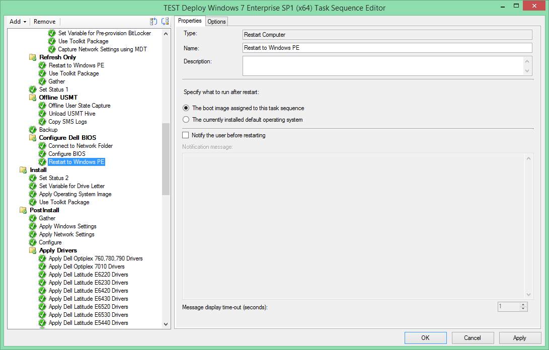 SCCM & Sundry: Configure Dell BIOS from WinPE