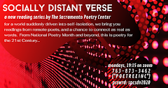 SOCIALLY DISTANT VERSE at SPC Mondays, 7:15pm