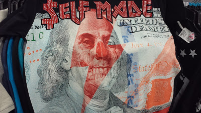 self made dollar bill shirt hundred