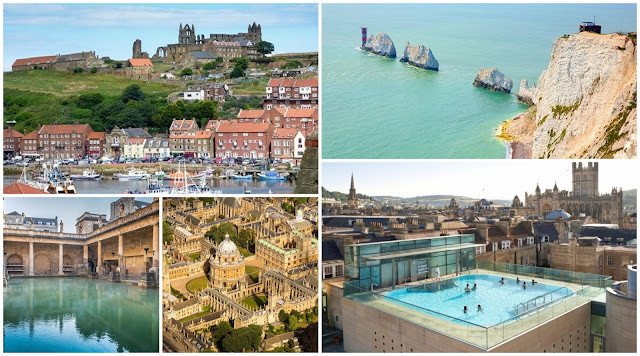 4 UK Holiday Destinations I'd Like To Visit including Bath, Isle of Wight, Whitby and Oxford