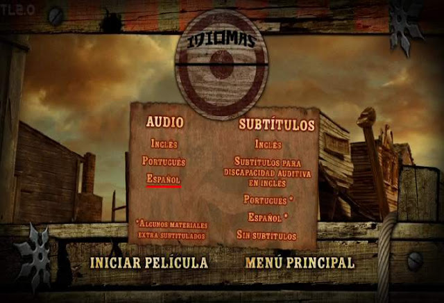 The Warriors Way DVDR Menu Full 2011 Español Latino Descargar