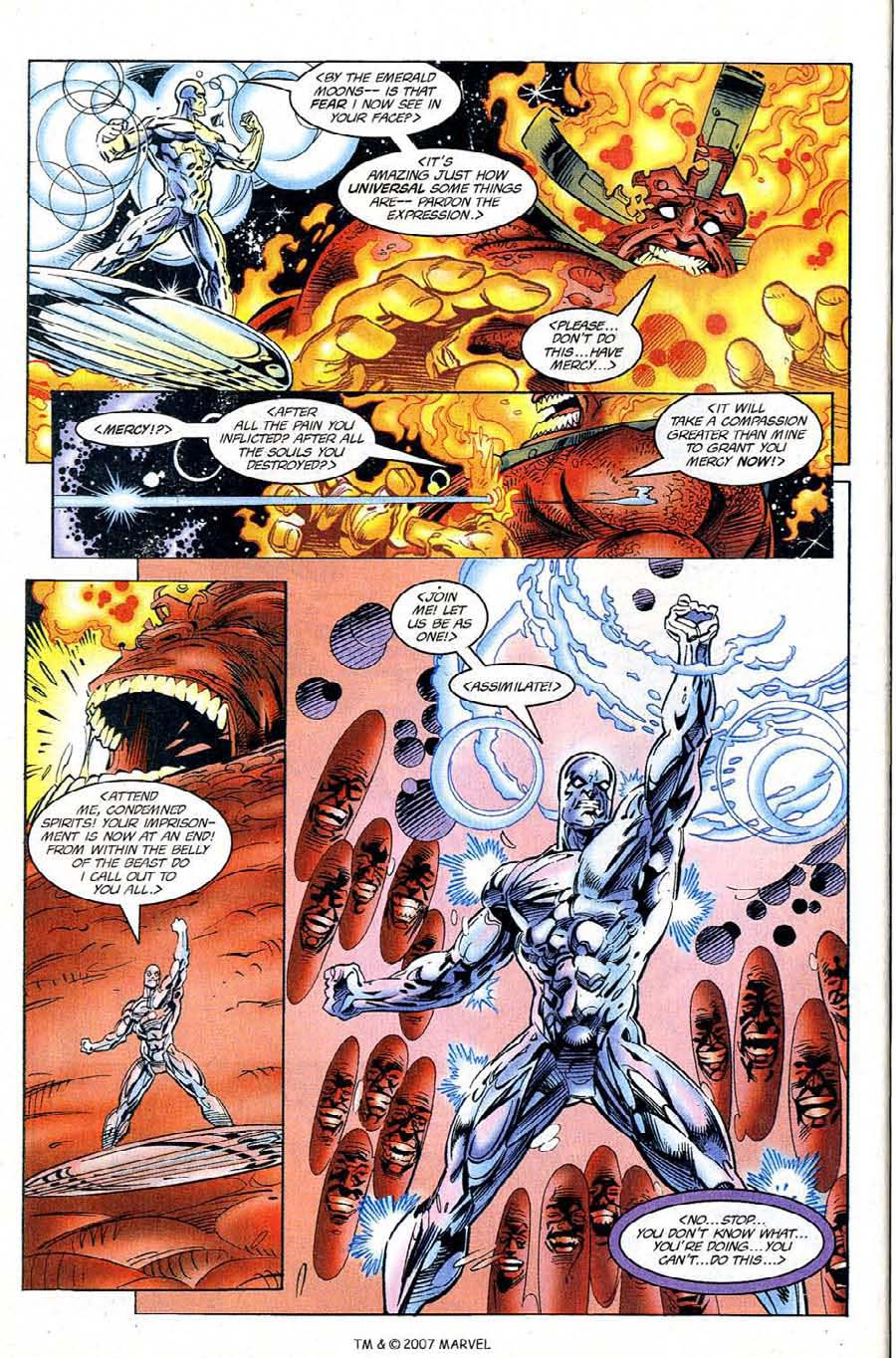 Read online Silver Surfer (1987) comic -  Issue #120 - 32