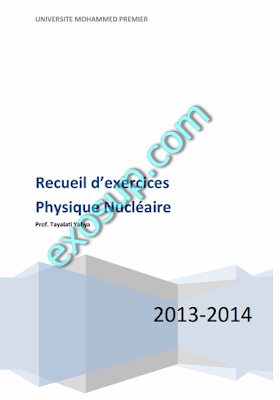 exercices corrigés physique nucléaire smp s5