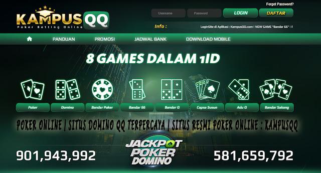 Poker Online | Situs Domino QQ Terpercaya | Situs Resmi Poker Online : KampusQQ