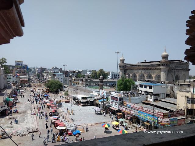 View of Makka Maszid from Char Minar