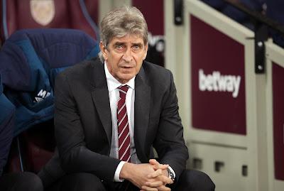 West Ham United Manager Manuel Pellegrini