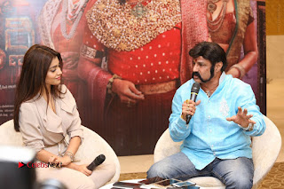 Shriya Saran Nandamuri Balakrishna at Gautamiputra Satakarni Team Press Meet Stills  0183.JPG
