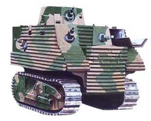 www.fertilmente.com.br - Bob Semple Tank, um tanque que não é tanque em uma época em que tanques eram combatidos com tanques