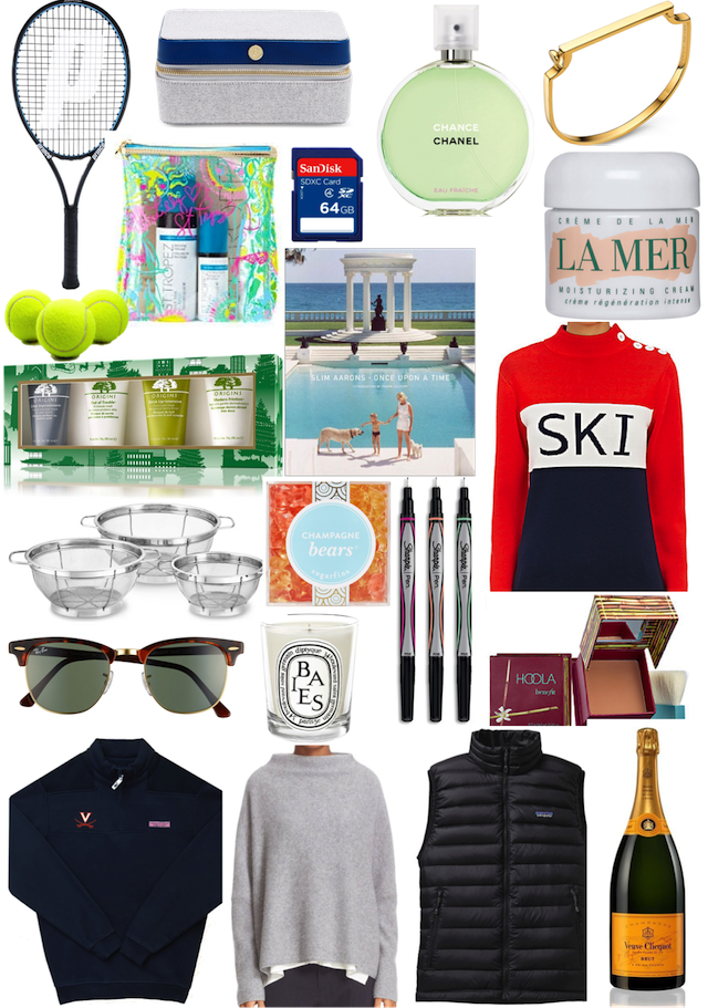 Gift Guide 2016: Summer Wind Gift Guide