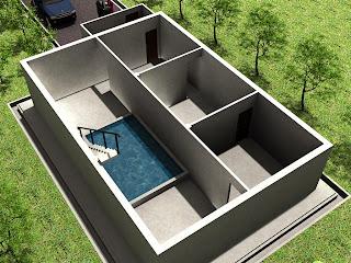 SUKSES BISNIS TERNAK Desain 3D Rumah Walet