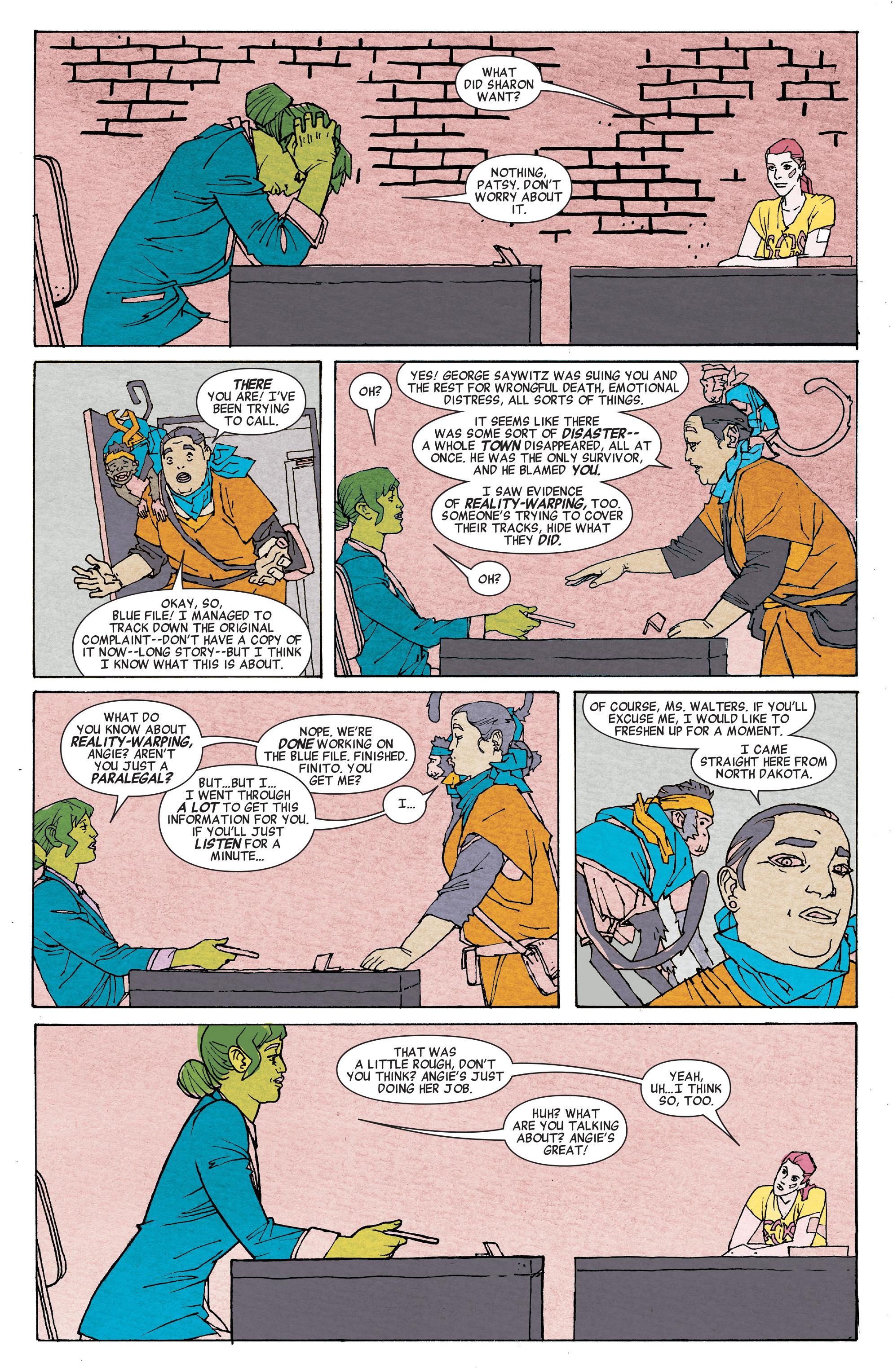Read online She-Hulk (2014) comic -  Issue #6 - 15