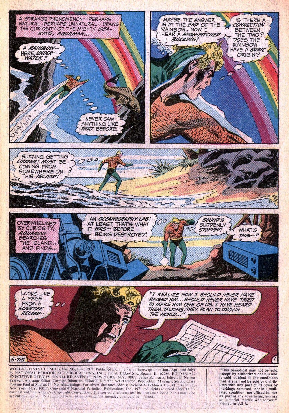 Read online World's Finest Comics comic -  Issue #203 - 3