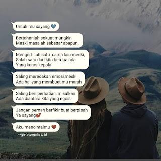 bikin baper chat wa romantis