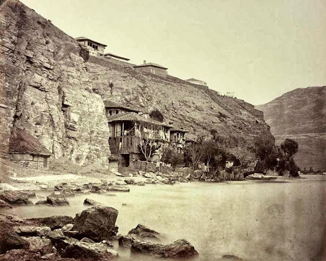 Ohrid southern end of town End of September 1863 - Macedonia in 1863 - Photo Collection of Josef Székely