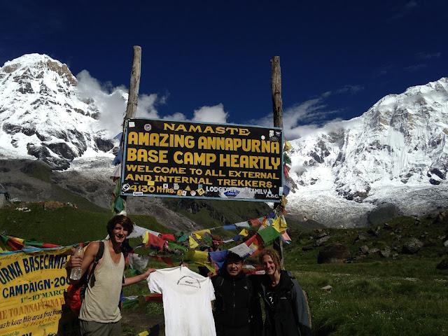 Annapurna Base Camp Trekking 2017