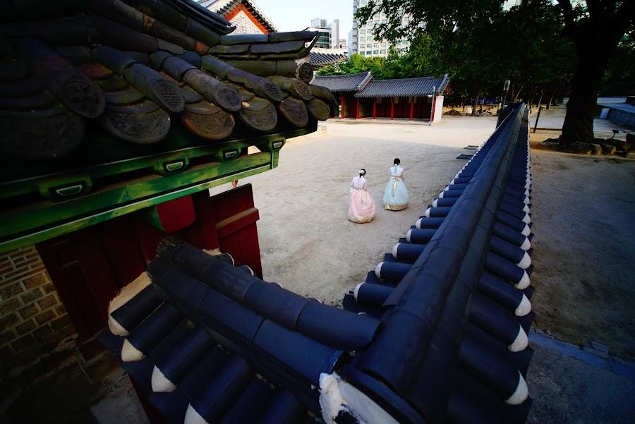 Deoksukung palace, Seoul
