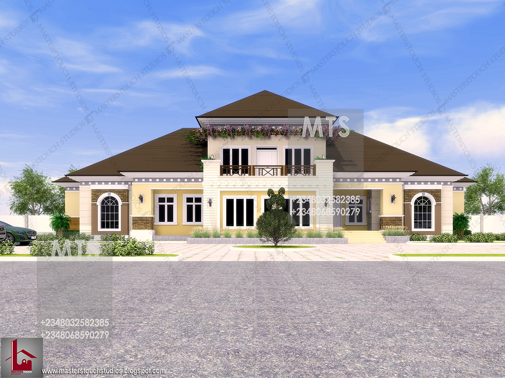 Mr spice 7 bedroom bungalow residential homes and for In home designs